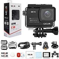 SJCAM SJ8 PRO 4K Videocamera Action Cam / 60FPS WiFi 2,3 Pollici Touch Screen con obiettivo grandangolare 170 ° EIS 8X Zoom Digitale Fotocamera Impermeabile