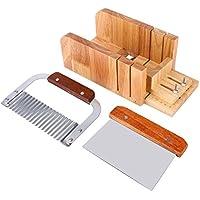 Yosoo Formenbau Handgemachte Seife Kit Holz Cutter Flach Einstellbare DIY Werkzeug set