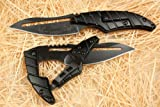 Alien Transformer II Matt Schwarz Klappmesser Jagdmesser Taschenmesser Werkzeug Folding knife