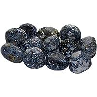 budawi® - Chalcedon Blau (Madagaskar) Trommelstein, Edelstein getrommelt, Handschmeichler, Taschenstein preisvergleich bei billige-tabletten.eu