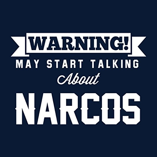 Coto7 Warning May Start Talking About Narcos Women's Vest Navy blue