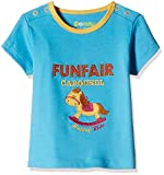 #1: Donuts Baby Girls T-Shirt (267622669_Aqua_06M)