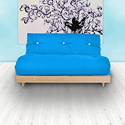 Changing Sofas Complete Triple Seater Futon Sofabed, Turquoise