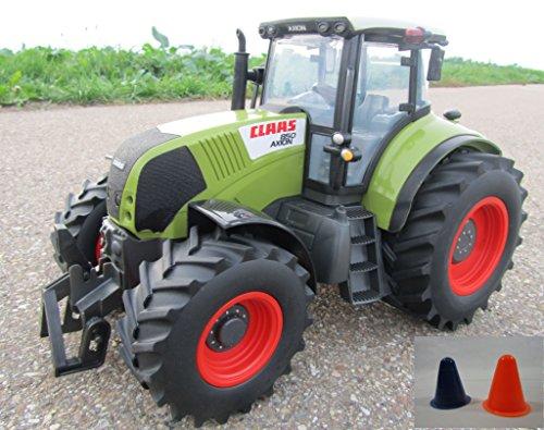 "RC Traktor CLAAS Axion 850 MAXI Schlepper 1:16 35cm 2 Pylonen gratis dazu \""TOP QUALITÄT\"" 403703-2P"
