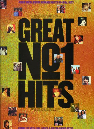 Great No.1 Hits. Half A Century of Chart Toppers, Five decades of Great No.1 Pop Hits (Piano Vocal Guitar)
