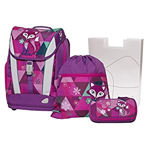 51IDO3pxgYL. SS300  - Angry Birds SCHOOL BACKPACK SET 4/1 SOFT FOX 78401 Mochila infantil 40 centimeters 24 Multicolor (PINK AND VIOLET)