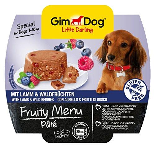 gimdog-futter-little-darling-fruity-menu-pate-mit-lamm-und-waldfruchten-fur-hunde-bis-10-kg-glutenfr