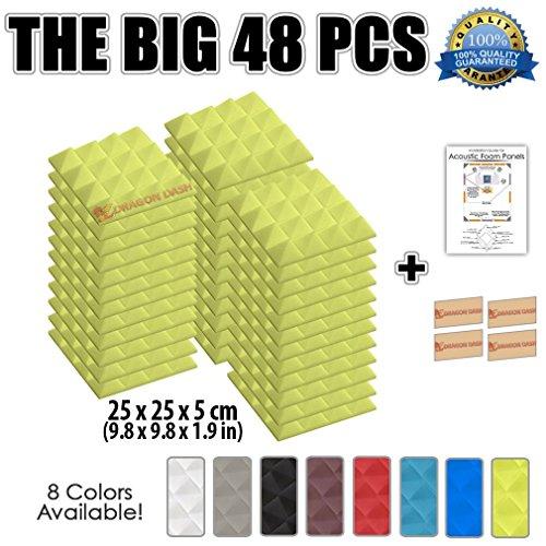 super-dash-48-unidades-de-25-x-25-x-5-cm-pulgadas-insonorizacion-piramide-espuma-absorcion-aislamien