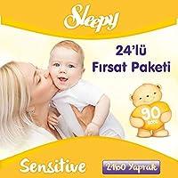 Sleepy Sensitive Islak Havlu 24'lü Fırsat Paketi 2160 Yaprak