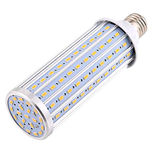 ZiJieShiYe E27 / E26 LED Birne Maisbirne 45W Äquivalent Ersatz 450W Halogenlampe (AC 85-265V) 140LED 5730SMD Aluminium LED Licht for Post Beleuchtung Garage Warehouse Veranda Hinterhof Garten etc