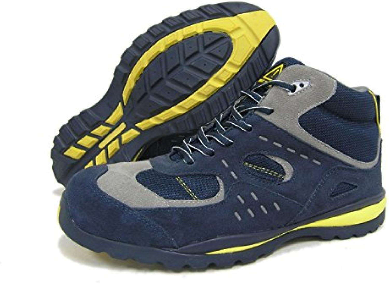 Seba 591 Ace Zapato alta, azul S1P, talla 44