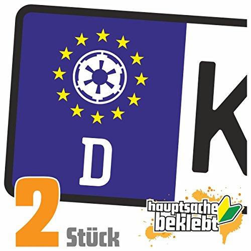 Imperium - Ära der Rebellion Kennzeichen Aufkleber Sticker Nummernschild - IN 15 FARBEN