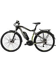 E-Bike Haibike XDURO Trekking PRO 400Wh/36V/250W 27-G 28' Herren in darkgrey/lime Modell 2015