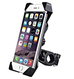 #9: Bighub Universal Bike Phone Mount with Anti Shake and Stable Cradle Clamp with 360 Degree Rotation for All Size Mobile Phones