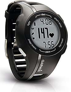 Garmin GPS-Laufuhr Forerunner 210, Schwarz, 010-00863-36