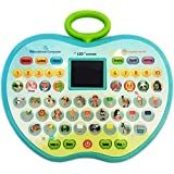 Super Toy Educational Computer Abc And 123 Learning Kids Laptop With LED Display And Music (Multi-Color)