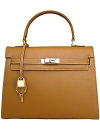 Carbotti Bellezza concepteur grab sac d'épaule - tan