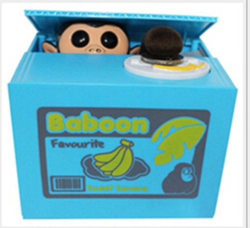 *FRE Tirelire avec Petit Singe (Banana) Achat