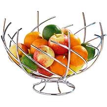 Premier Corbeille à fruits Spirale Chromé