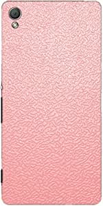 Snoogg Pink Distorted Water Case Cover For Sony Xperia Z3