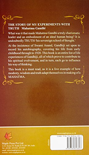 An Autobiography Of Mahatma Gandhi (My Experiments With Truth)