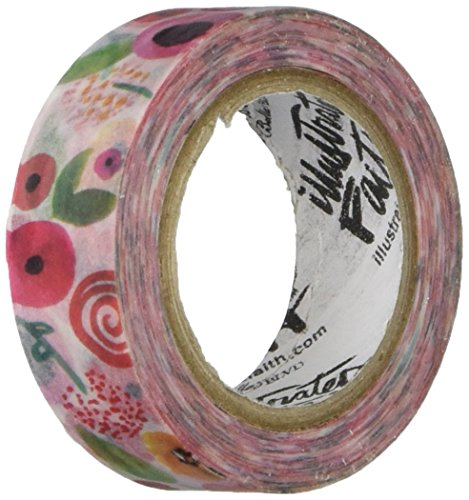 Bella Blvd Illustrated Faith She Blooms Washi Tape-Bloom, Other, Multicoloured