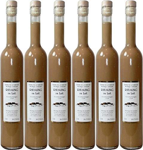 6x Schoko Sahnelikör vom Riesling Tresterbrand - Weingut Schulze