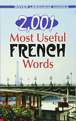 2,001 Most Useful French Words (Dover Language Guides French) [Idioma Inglés]