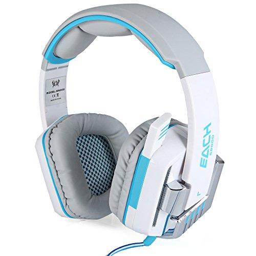Gaming Headset Stereo Sound 2,2m Wired Kopfhörer Rauschunterdrückung mit Mikrofon