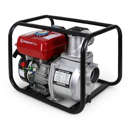EBERTH 6,5 PS 3 Zoll Wasserpumpe Benzin Motor Pumpe thumbnail