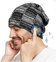 COTOP Gorro de Invierno Bluetooth 5.0, Regalos Originales, Gorro de Punto Musical para Hombres y Mujeres con A