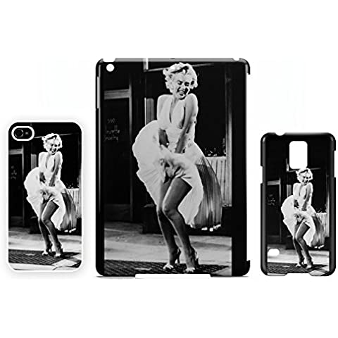 Marilyn Monroe Skirt Wind iPad mini Cubierta de la cáscara caso tableta