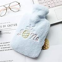 Baoffs Luxus-Wärmflasche Einfacher Entwurf Heißwasser-Flaschen-Heißwasser-Tasche für die Schmerz-Kälte mit Abdeckung... preisvergleich bei billige-tabletten.eu