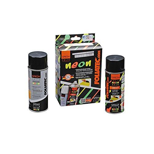 Preisvergleich Produktbild Foliatec 2094 Sprühfolie Abziehbar, Neon Gelb
