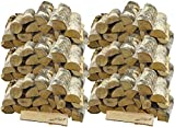 mumba 90 KG Kaminholz * BIRKE * Feuerholz Restfeuchte ca. 20% getrocknet