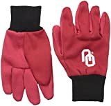 Forever Collectibles NCAA College farbigen Palm Utility Handschuh, unisex, rot