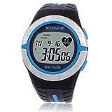 Tests de détection de mouvements pour le pouls rythme cardiaque en calories/Sans ceinture pectorale fréquence cardiaque numérique montres-C