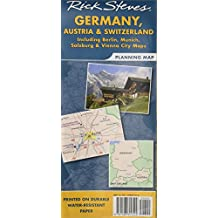 Rick Steves' Germany, Austria, and Switzerland Map: Including Berlin, Munich, Salzburg and Vienna City (Rick Steves' Planning Map)