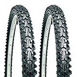 """CST Eiger 26"""" x 1.95 Mountain Bike Tyres (Pair)"""