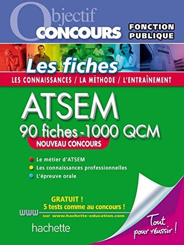 Fiches ATSEM Nouvelle Edition + QCM en ligne (ATSEM - Petite enfance)