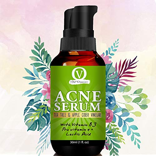 Buy Vital Organics Acne Gel Serum For Acne Treatment & Spots, Scars Removal With UV Gel Sunscreen And Secret Tea Tree Oil Formula For Only Skin and Combination Skin types online in India at discounted price