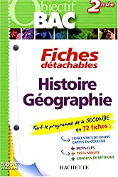 Fiches détachables Histoire-Géographie 2nde