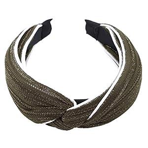 SEVENHOPE Frauen Tuch Haarband Haar Hoop Wide Band Stirnband Für Mädchen