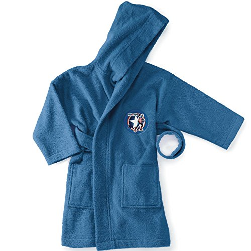 Bassetti Capitán América Albornoz, algodón, Azul, 27x 10x 0.1cm