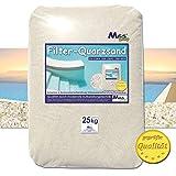 Filtersand Quarzsand geprüfte Qualität Körnung wählbar (0.71-1.25mm)