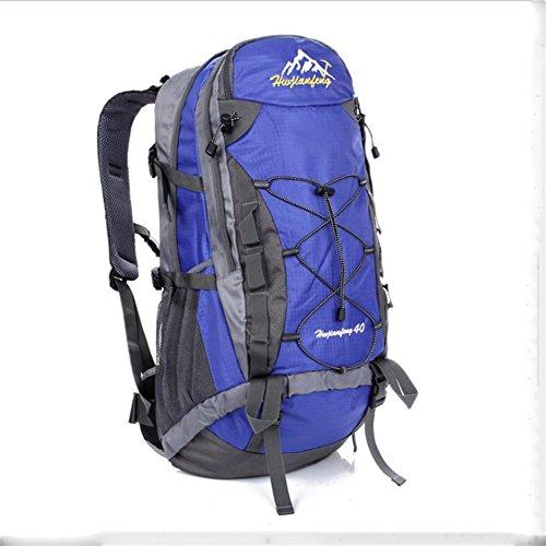 40L wandernder wasserdichter Rucksack / Bergsteigen Wanderrucksack Blue