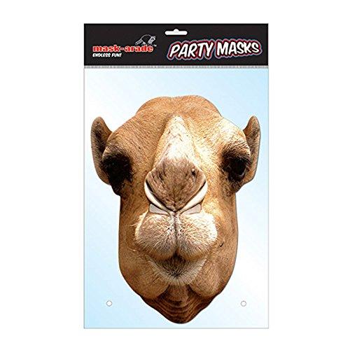 MA1315–Tiermaske Kamel–Karton–Einheitsgröße