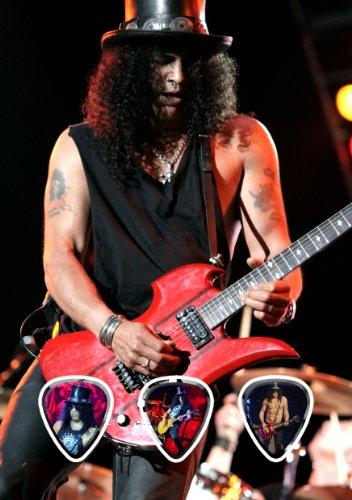 Slash (WK) Live Performance Unframed Guitarra Pick Display