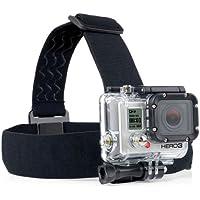 ST-23 elástico ajustable Cabeza Casco de la correa de la correa para GoPro HD