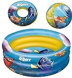 Haberkorn Planschbecken Findet Nemo Dory Pool Set mit Schwimmring und Wasserball